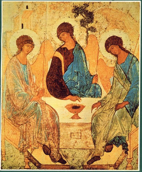 Festa della Santissima Trinità Trinitarubliov