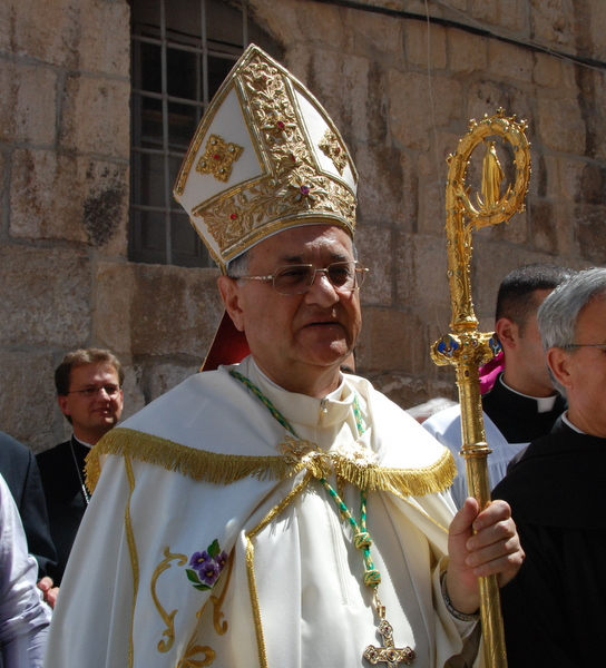 Fouad Twal, Patriarca latino di Gerusalemme