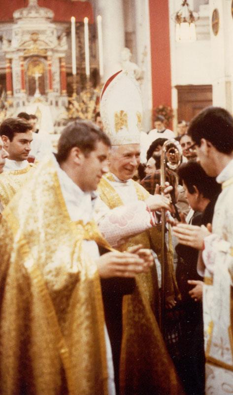 1980: Messa pontificale a Venezia